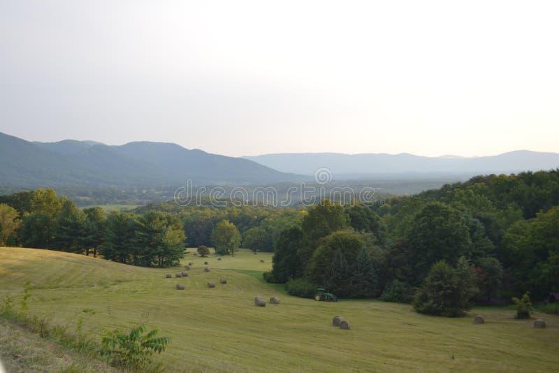 Blue Ridge Mountains stock photography