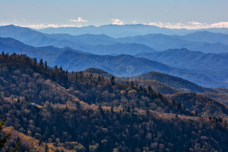 Blue Ridge Parkway royalty free stock photos