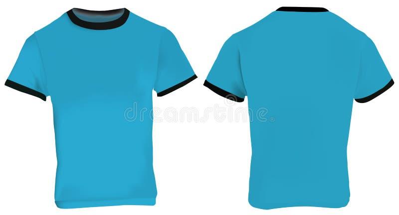 blue ringer t shirt stock vector illustration of fabric 75358945. Black Bedroom Furniture Sets. Home Design Ideas