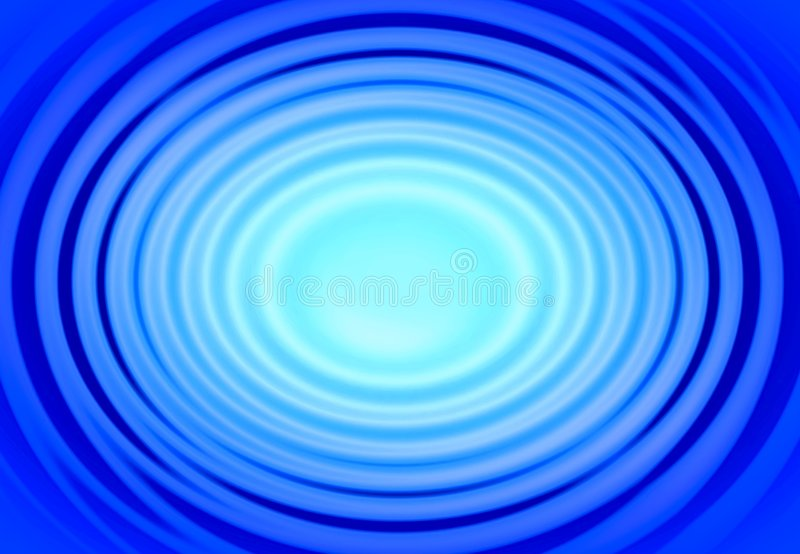 Blue rings royalty free stock images