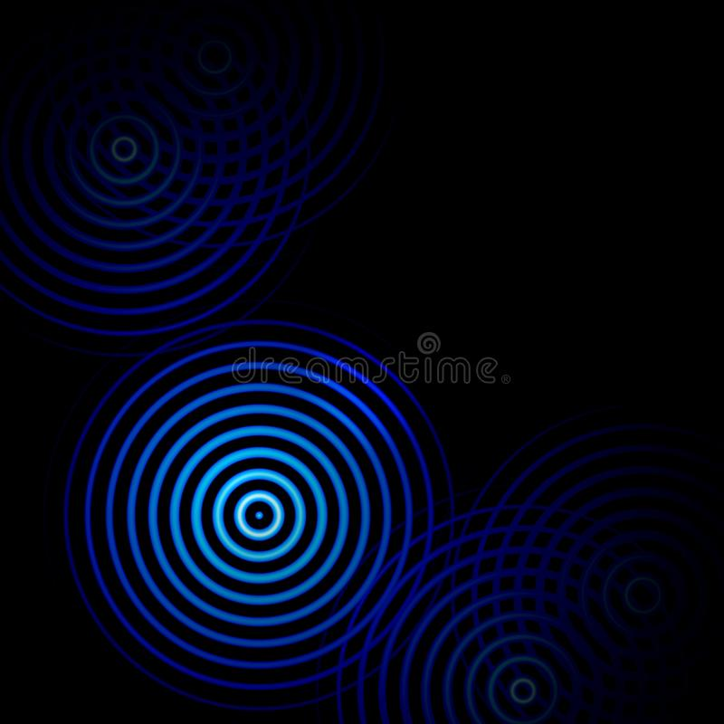 Free Blue Rings Sound Waves Oscillating, Abstract Background Royalty Free Stock Photo - 118914665