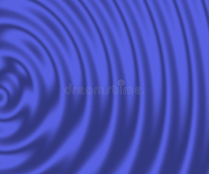Blue ripple background royalty free stock photography