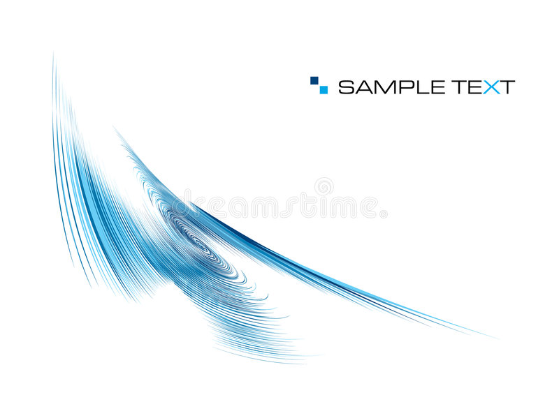 Download Blue ripple background stock vector. Image of fragrance - 7729647