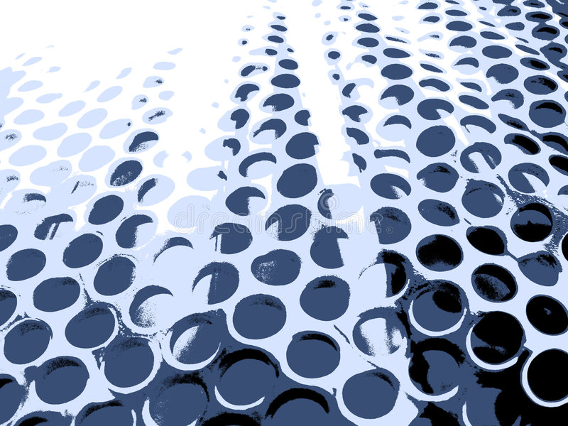 Blue Ripple Holes Royalty Free Stock Images