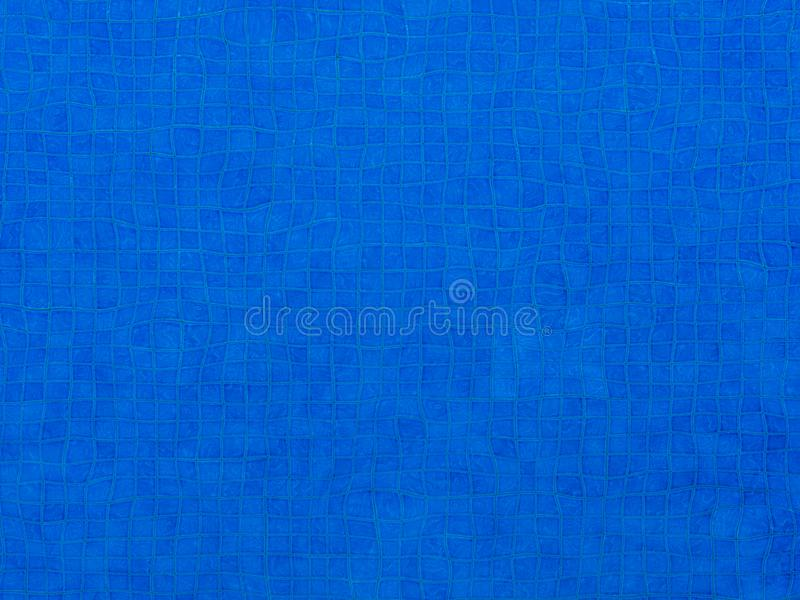 Blue Ripple Water in swimming pool background stock photo