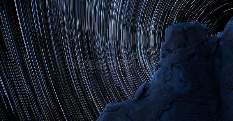 Download Blue Rock Star Trails stock photo. Image of streaks, streaking - 26203278