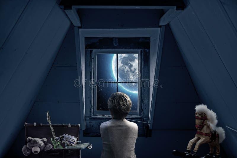 Blue, Room, Darkness, Light