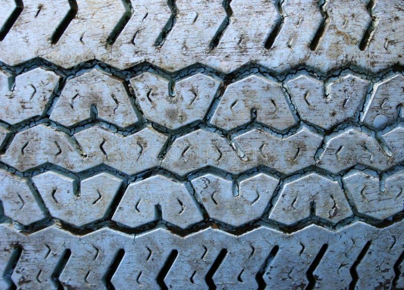 Download Blue rubber v-shape tread stock image. Image of tire, geometric - 110919