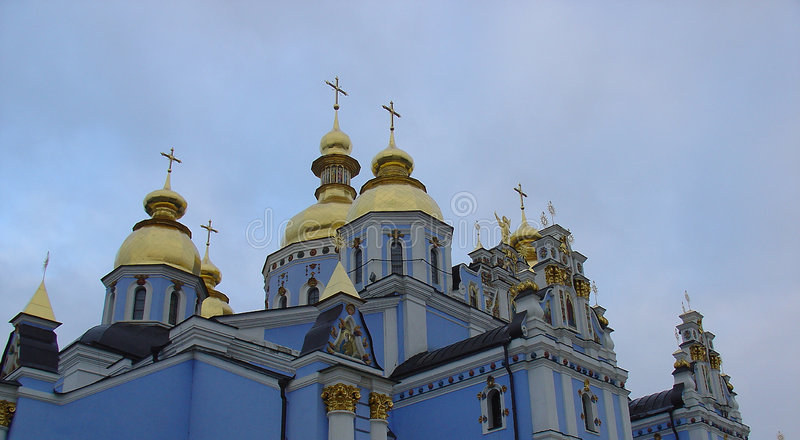 Download Blue russian church stock photo. Image of priest, catholic - 57080