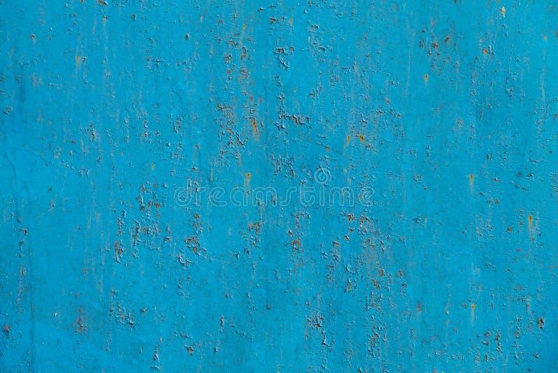 Blue rusty metal texture stock photos