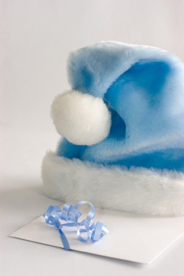 Free Blue Santa Hat Royalty Free Stock Image - 322496