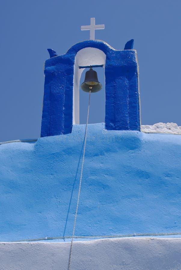 Blue Santorini stock image