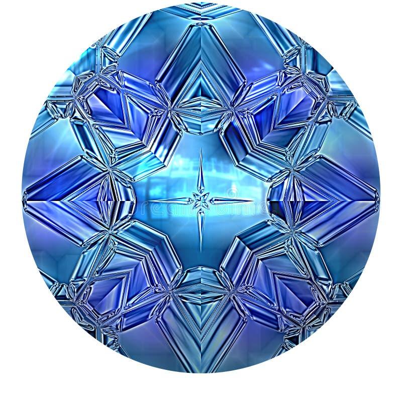 Blue sapphire royalty free illustration