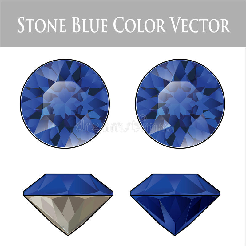 blue products earring color sapphire
