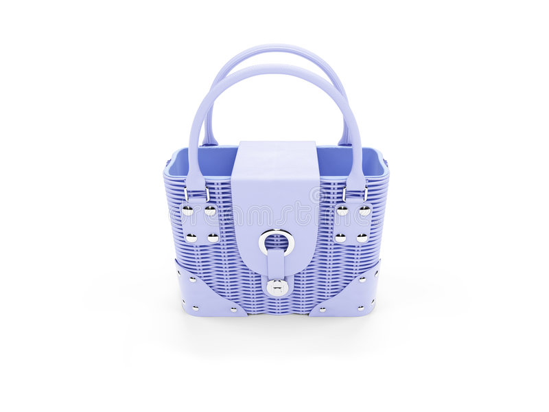 Download Blue Satchel Stock Photography - Image: 7237622