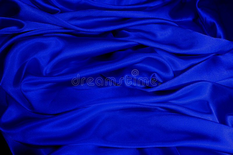 Download Blue satin stock image. Image of midnight, dark, material - 517071