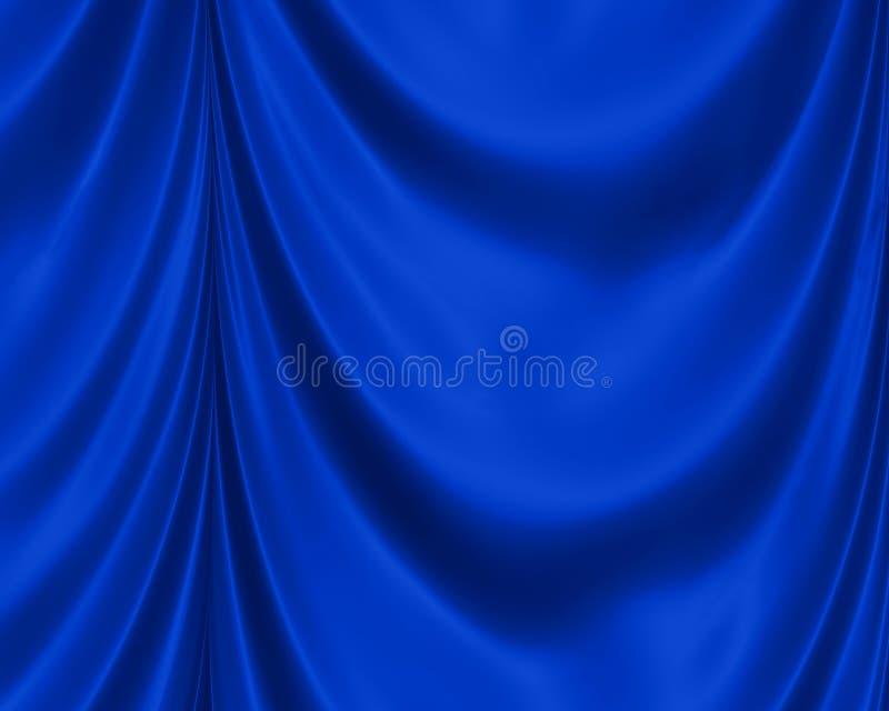 Blue Satin Background vector illustration