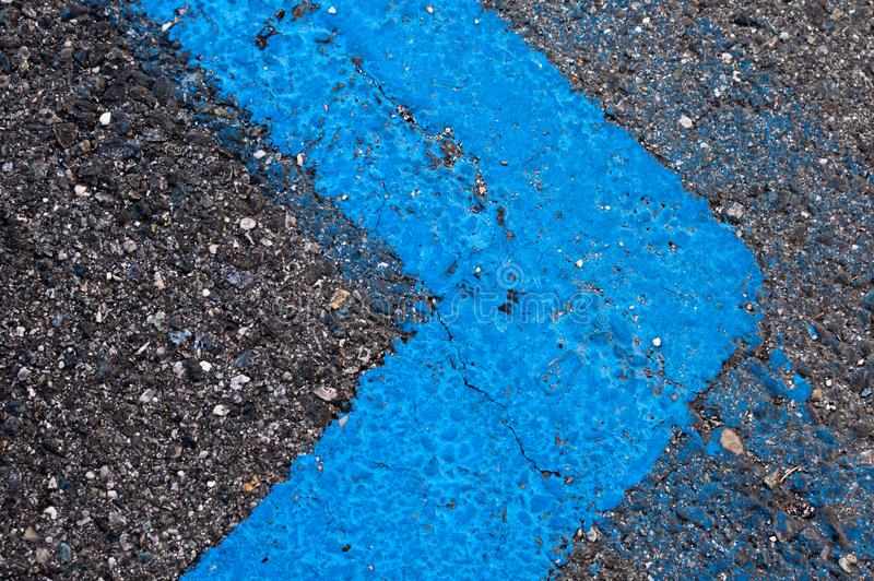 Road strips royalty free stock image