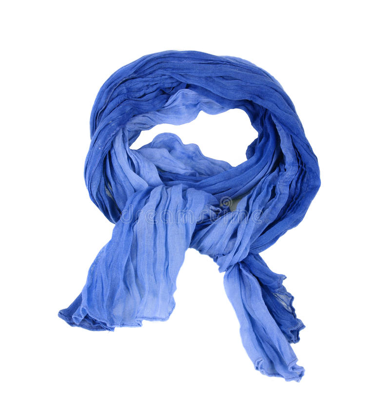 Free Blue Scarf Stock Photo - 16683610