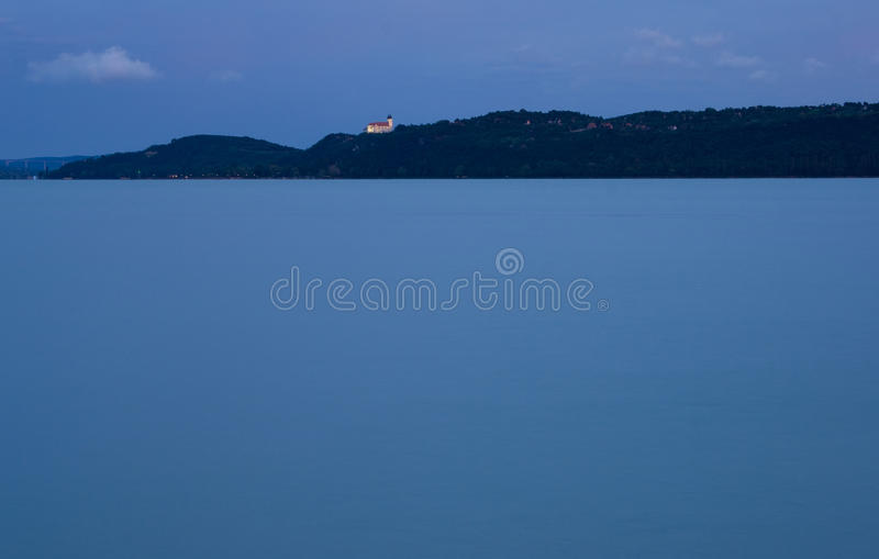 Blue Scene After Sunset Stock Photo