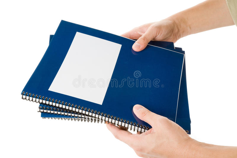 Download Blue school textbook stock photo. Image of booklet, notebook - 11490866
