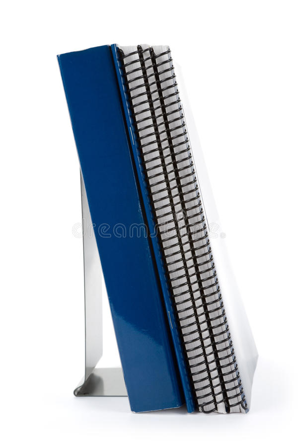 Free Blue School Textbook And Bookend Royalty Free Stock Image - 10887996