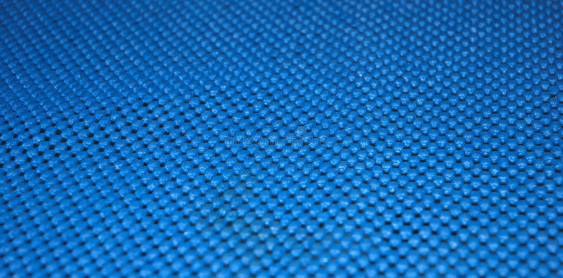 Blue Scotch Brite Cloth Texture Stock Image