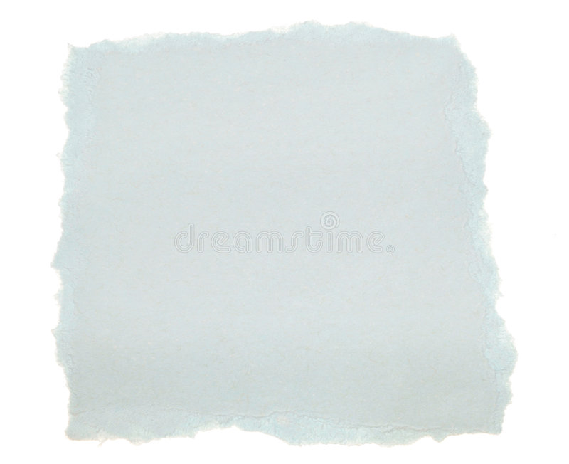 Blue Scrap Paper royalty free stock photos