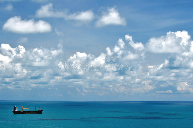 Download Blue sea stock image. Image of clouds, relaxation, blue - 27200263