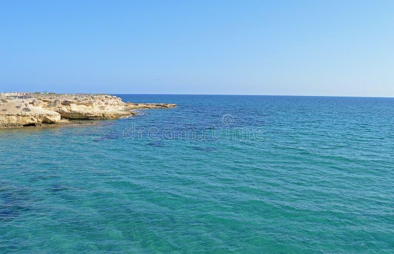 Blue Sea And Headland stock image