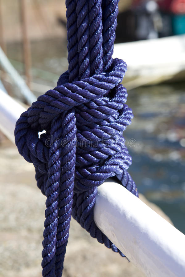 Download Blue Sea knot stock image. Image of strong, symbol, knot - 10682701