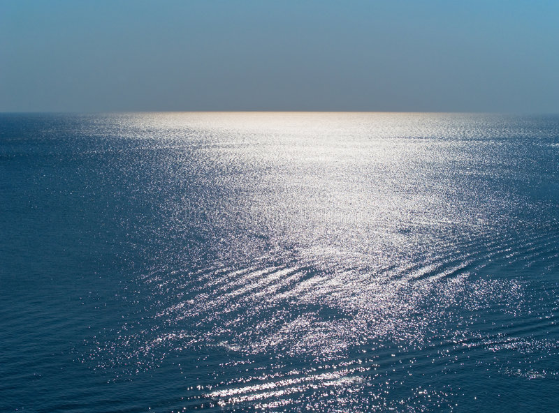 Download Blue sea surface stock image. Image of surface, clear - 6127311