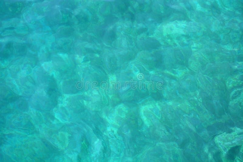 Blue sea water blurred ripple background. Aegean Sea, Turkey royalty free stock photography