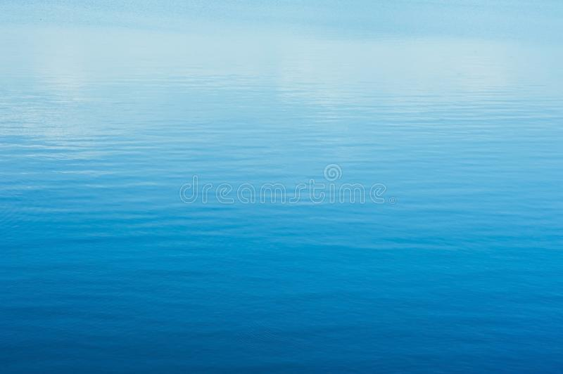 Blue sea waves surface abstract background pattern royalty free stock image