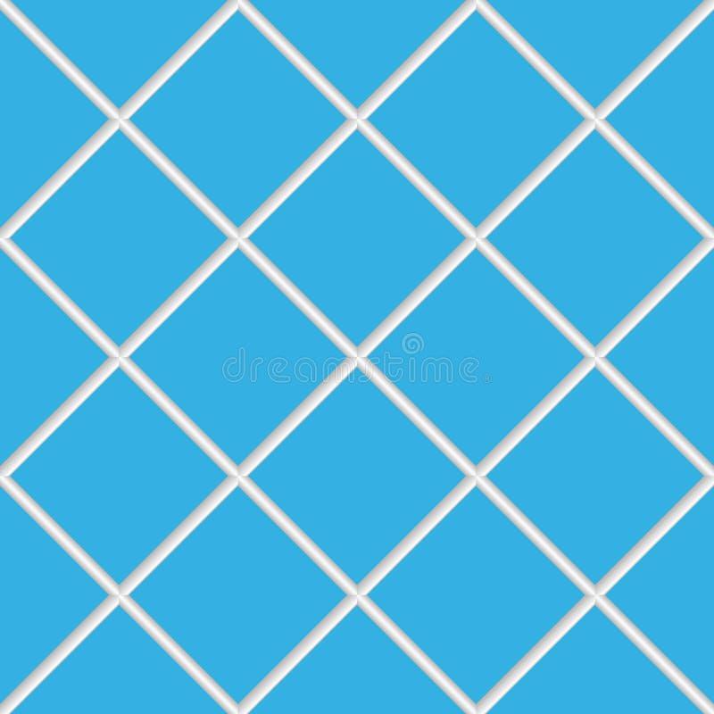 Download Blue Seamless Ceramic Tiles Stock Vector - Image: 13171715