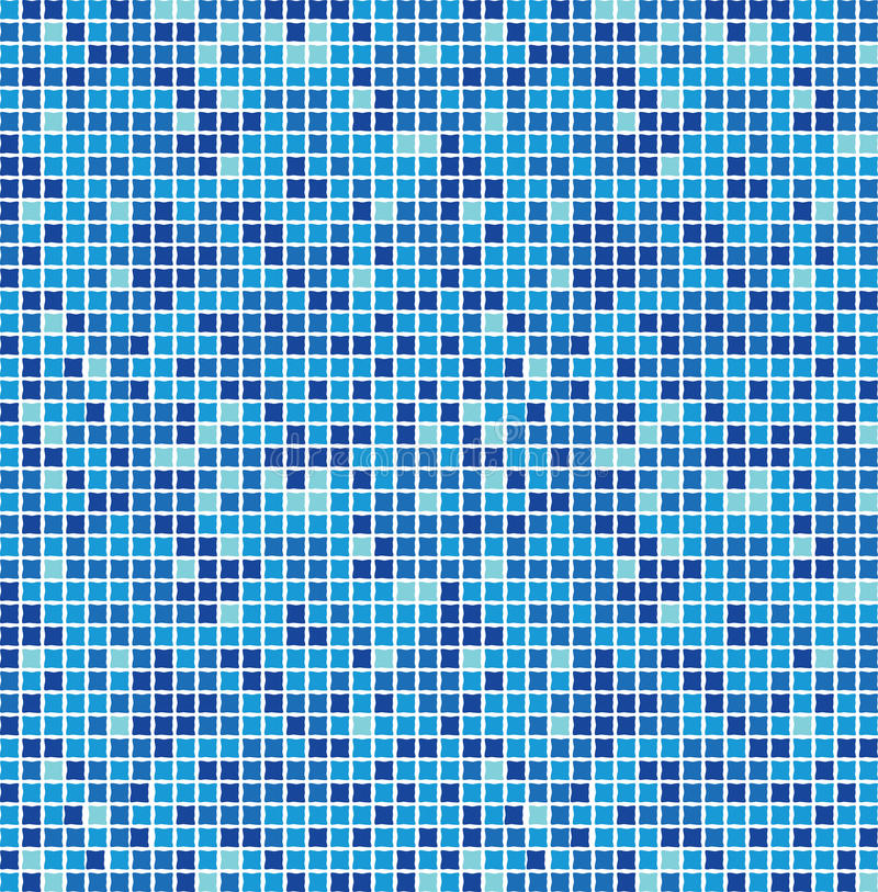 Free Blue Seamless Mosaic Royalty Free Stock Photography - 9475767
