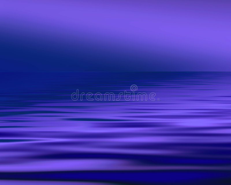 Blue seascape royalty free stock images