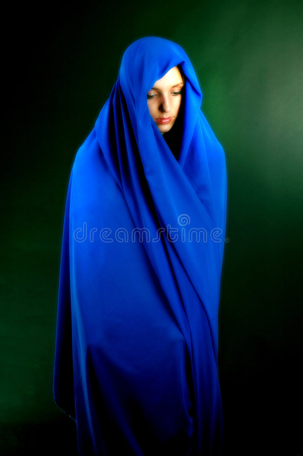 Blue serene royalty free stock photo