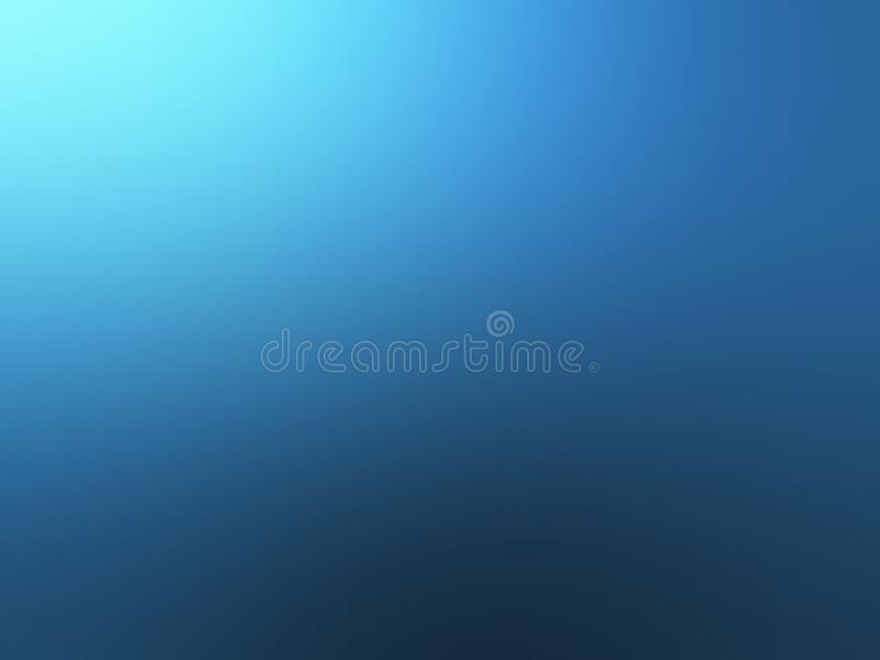 Blue shaded abstract blur background wallpaper, vector illustration. royalty free stock image