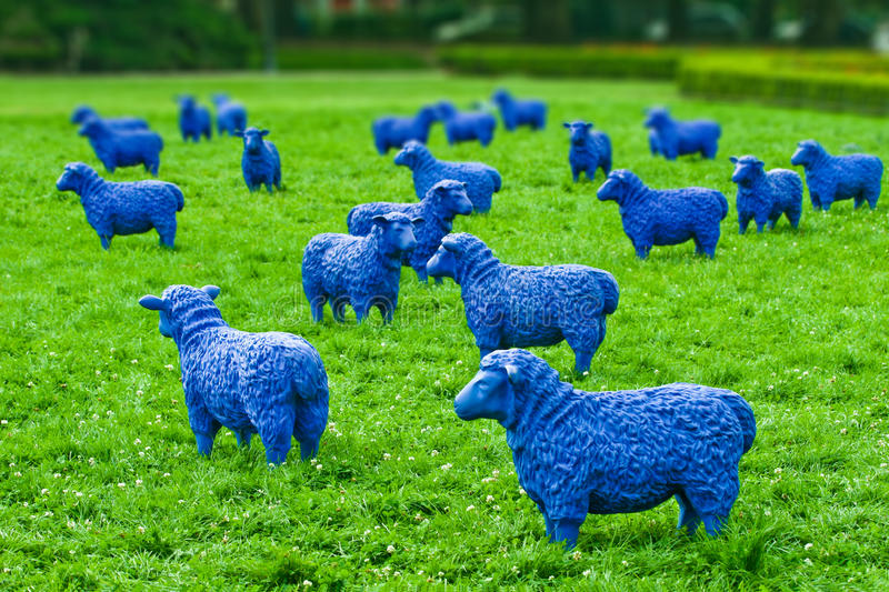 Download Blue Sheep Stock Photos - Image: 27936473