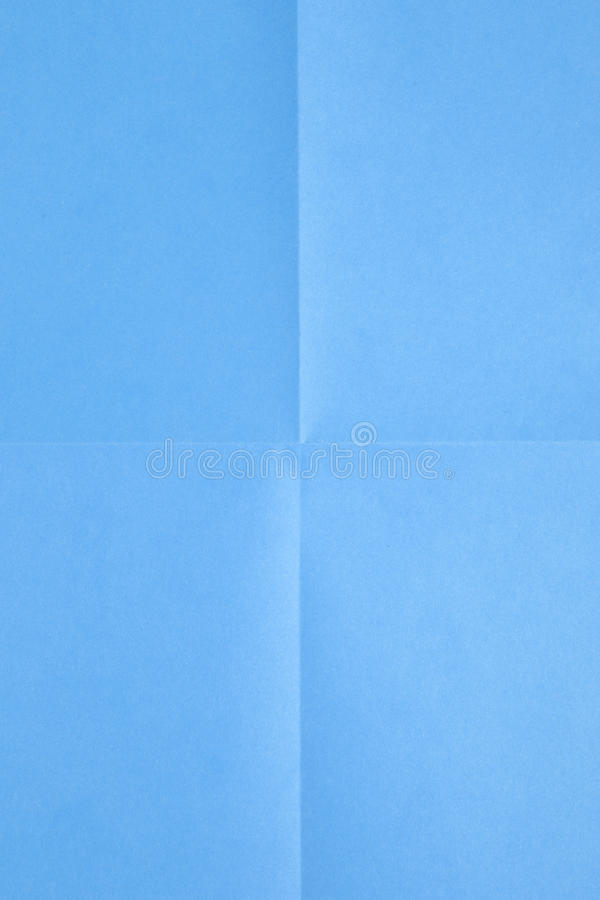 Blue sheet of paper royalty free stock image