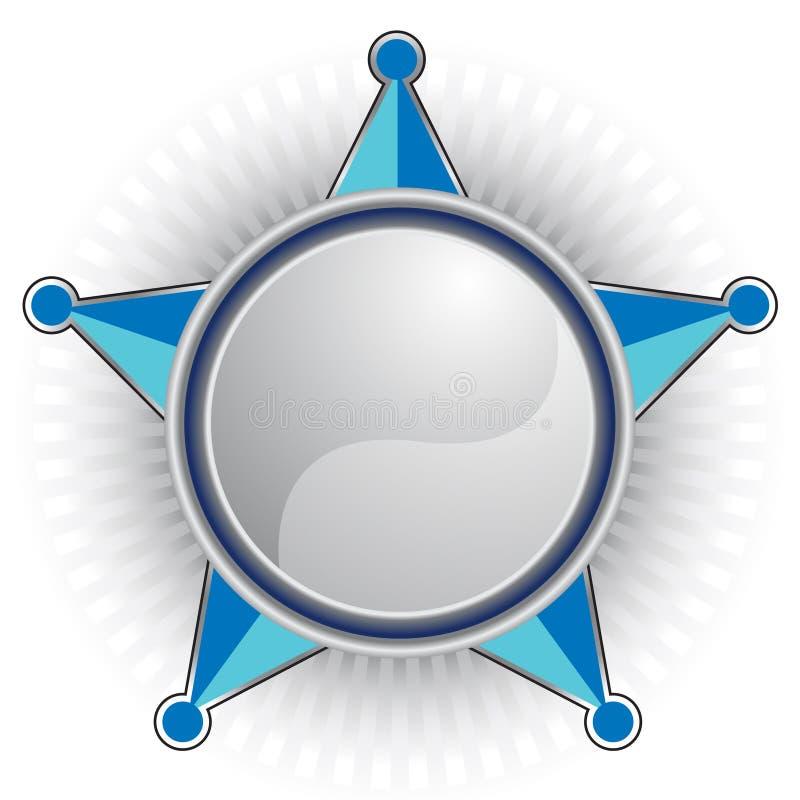 Blue Sheriff Star