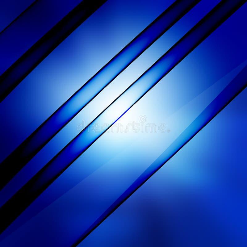 Blue shiny lines royalty free stock photos