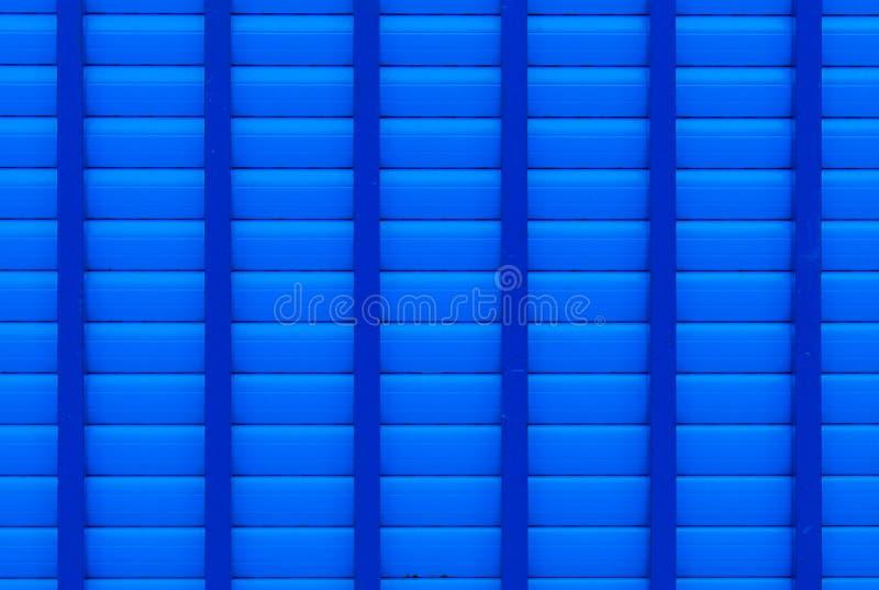 Blue shutter royalty free stock photo