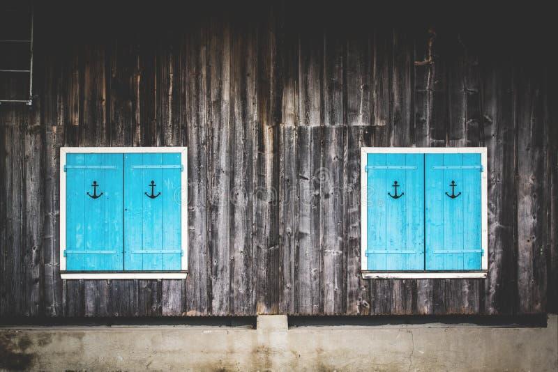 Blue Shutters Free Public Domain Cc0 Image