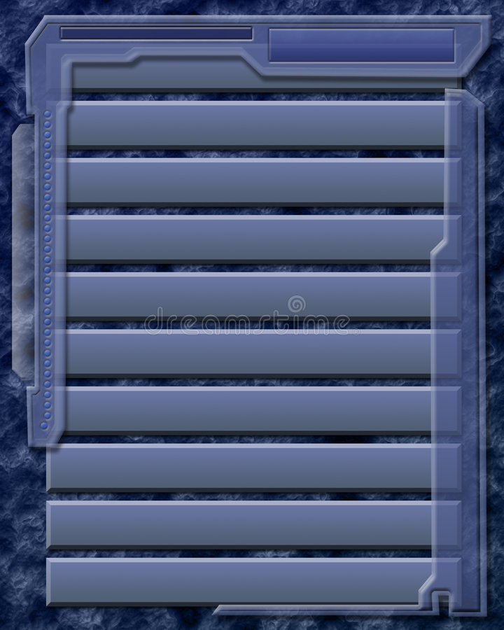 Blue shutters background vector illustration