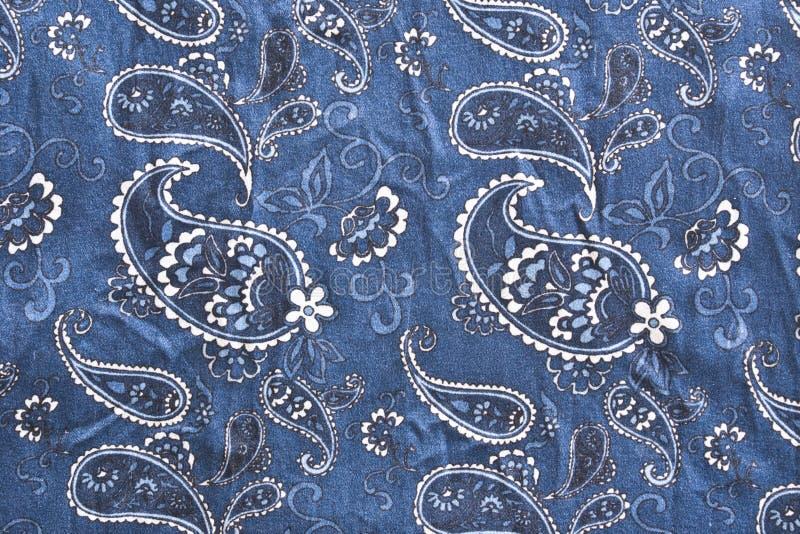Blue silk royalty free stock photos