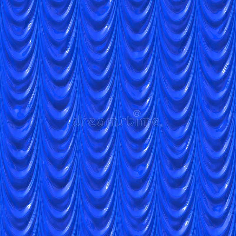 Download Blue silk curtains stock illustration. Image of bright - 3209923