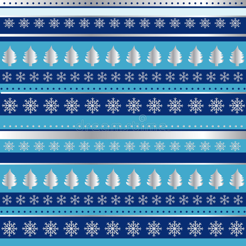 Download Blue And Silver Christmas Wrapping Paper Stock Photo - Image: 25684606