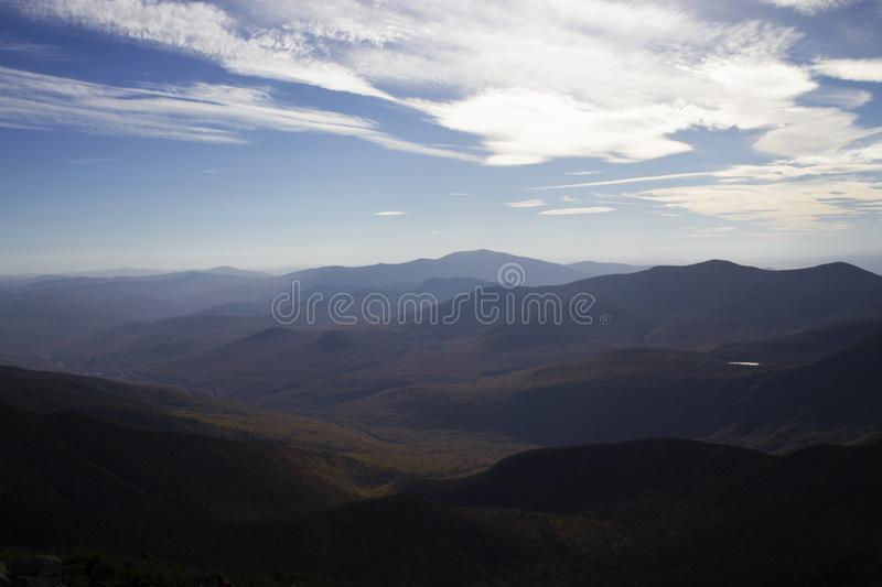 Blue Skies And Clouds Over Mountains Free Public Domain Cc0 Image